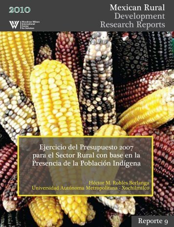 Mexican Rural Development Research Reports