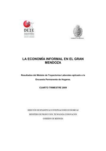 Informalidad Laboral en el Gran Mendoza - Deie.mendoza.gov.ar ...