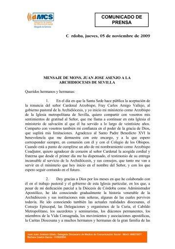 de Córdoba, tendrá lugar el próximo - El Mundo