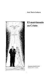 El matrimonio en Cristo - Fundación Gratis Date