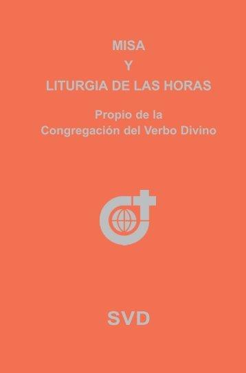 Misa y la Liturgia de las Horas - SVD-Curia
