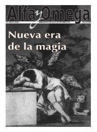 Nº 485/9-II-2006 SEMANARIO CATÓLICO DE ... - Alfa y Omega