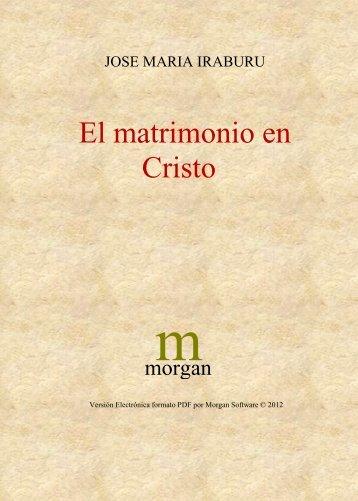 El matrimonio en Cristo - OpenDrive