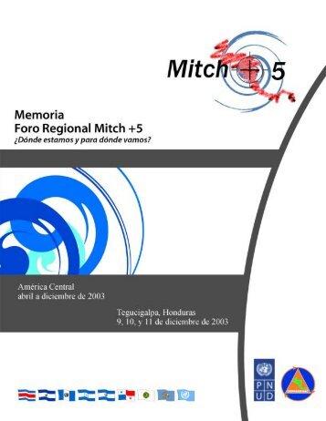 Memoria - Foro Regional i - Programa de las Naciones Unidas para ...
