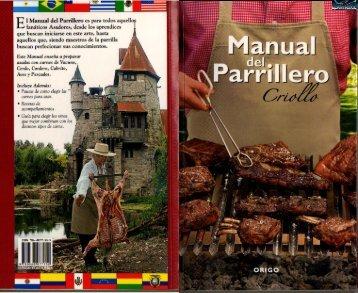 Manual del Asador Criollo - GRANDES RECETAS
