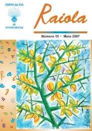 + Descargar revista nº 15 (PDF) - Centro Gallego de Vitoria
