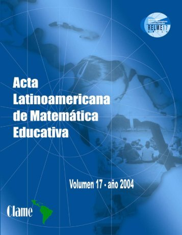 Descargar PDF - Comite Latinoamericano de Matematica Educativa