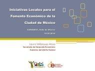 Iniciativas locales para el fomento económico de la - Canadevi Valle ...