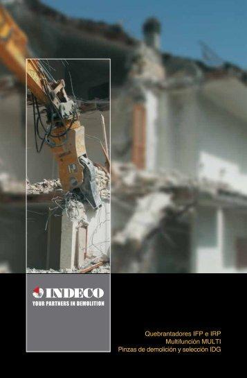 Quebrantadores IFP e IRP Multifunción MULTI Pinzas de demolición ...
