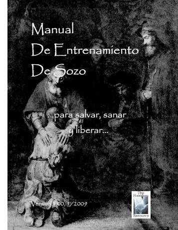 Manual De Entrenamiento De Sozo - The Freedom Resource