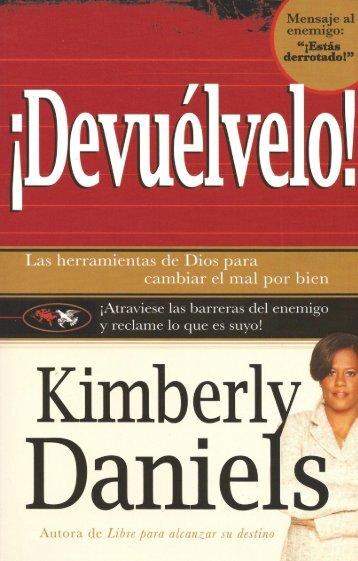 Kimberly Daniels – Devuélvelo - Ondas del Reino