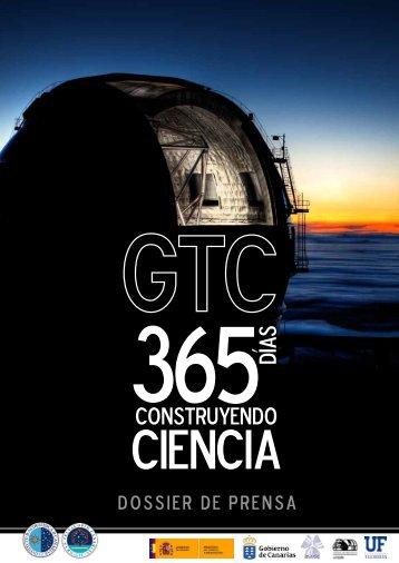 Dossier 365 días GTC - Instituto de Astrofísica de Canarias