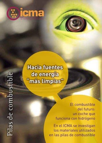 Pilas de combustible - Universidad de Zaragoza