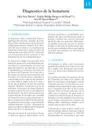 15. Protocolo diagnóstico de la hematuria - Asociación Española de ...