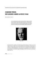 Sigmund Freud: reFlexioneS Sobre la vejez - Gaceta de Psiquiatría ...