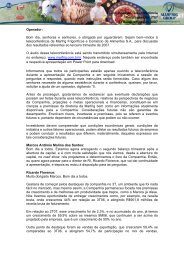 Transcrição da Teleconferência Resultados do 3T07 13 de ... - Marfrig