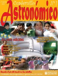 Cuadernillo - Gemini Observatory
