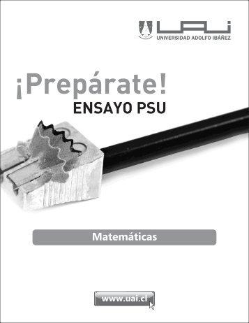 PSU Matemática 1 - Sala de Historia
