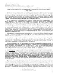 Aspectos del nuevo flujo entrante divino - Pathwork México