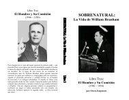 Libro Tres El Hombre y Su Comisión - Luz al Atardecer