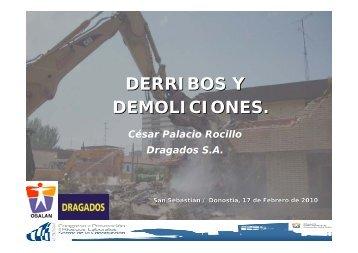 DERRIBOS Y DEMOLICIONES. - osalan.euskadi.net