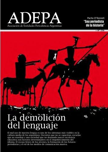 La demolición del lenguaje - Adepa