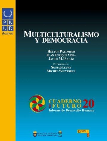 multiculturalismo y democracia - Informe sobre Desarrollo Humano ...