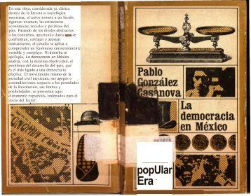 La democracia en México - Instituto Nacional de Administración ...