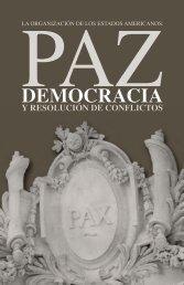 Paz, Democracia y Resolución de Conflictos