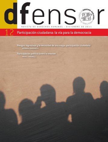 Participación ciudadana: la vía para la democracia - Comisión de ...