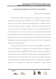 MANOEL DE BARROS: UMA POÉTICA DO ÍNFIMO