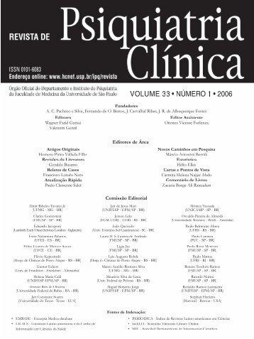 Instruções para os autores - Hospital das Clínicas - USP