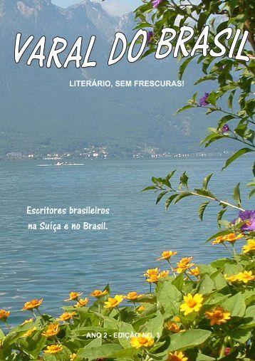 Escritores brasileiros na Suíça e no Brasil. - Varal do Brasil