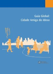 Guia Global: Cidade Amiga do Idoso - World Health Organization