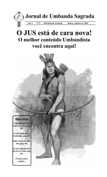 Ano 1 Ed 009 Jan 2001 - Colégio de Umbanda Sagrada Pena Branca