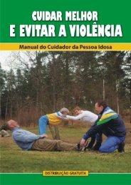 Manual do Cuidador - Observatório Nacional do Idoso - Fiocruz
