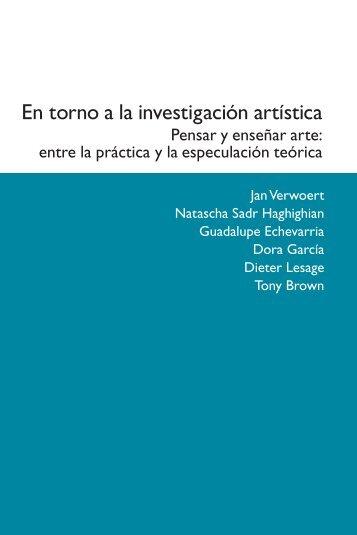 En torno a la investigación artística - Publicacions de la Universitat ...