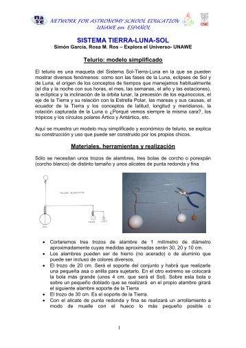 Sistema Tierra-Luna-Sol - sac.csic.es