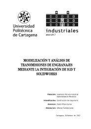 modelización y análisis de transmisiones de engranajes mediante