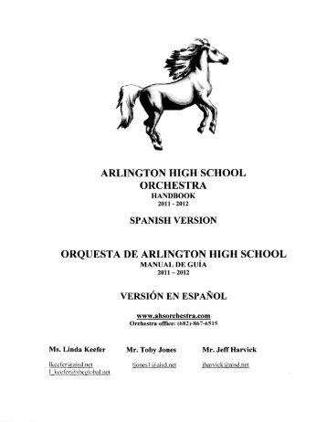 arlington high school orchestra orquesta de arlington high school