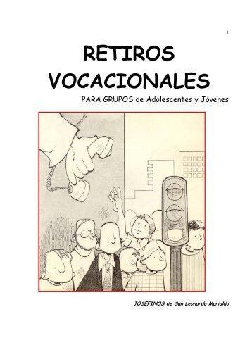 RETIROS VOCACIONALES - Pastoral Vocacional México