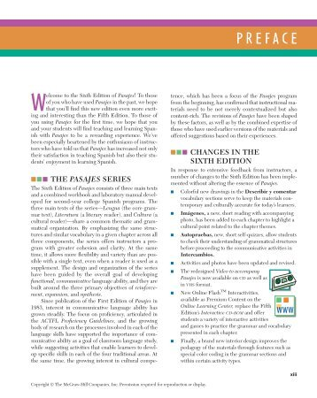 PREFACE - The McGraw-Hill Companies