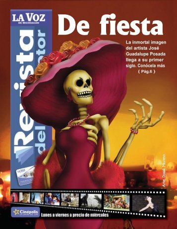 La inmortal imagen del artista José Guadalupe Posada llega a su ...