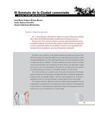 El Estatuto de la Ciudad comentado - Cities Alliance