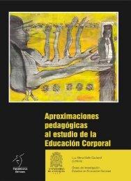 Aproximaciones pedagógicas al estudio de la Educación Corporal