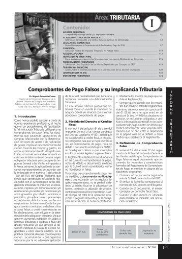 TRIBUTARIO ULTIMO - Revista Actualidad Empresarial