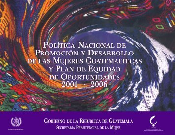 POLÍTICA NACIONAL DE PROMOCIÓN Y DESARROLLO ... - conacmi