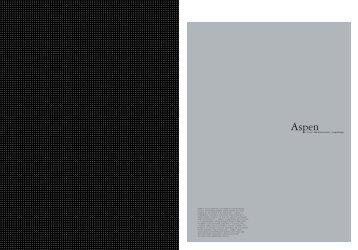aspen - ad dizajn