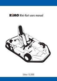 Mini-Kart users manual - Rimo