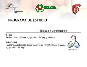 Programa - Colegio de Estudios Científicos y Tecnológicos de
